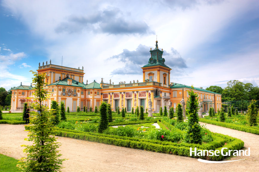 [:pl]Wilanow Palace in Warsaw, Poland[:]